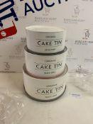 Mason Cash Set of 3 Cake Tins