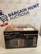 Russell Hobbs RHMM701R 17L Red Solo Manual Microwave