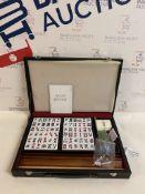 Mah Jongg Board Game In Black Presentation Case