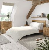 Luxury Egyptian Cotton 23 Thread Count Duvet Cover, Super King RRP £59