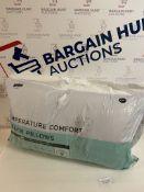 Temperature Comfort 2 Pack Pillows RRP £39