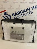 Goose Feather and Down Natural 2 Pack Pillows RRP £60