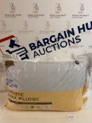 Cosy & Light Synthetic 2 Pack Pillows