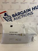 Microfibre 2 Pack Pillows