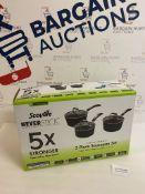 Scoville Neverstick 3 Piece Saucepan Set