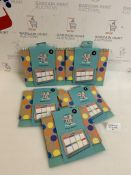 """""""Thank You Teacher"""" Weekly Planner Gift Set of 5"""