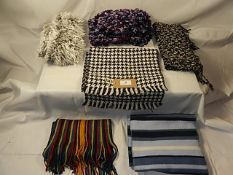 A collection of 6 Scarves