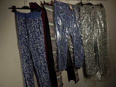 9 pairs of Leggings/trousers various sizes to include French Connection