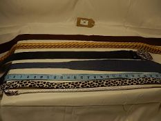 A collection of 7 belts some vintage - to include a 'snake' belt