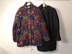 2 Coats size M/14 - black coat Soul brother label