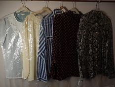 5 Vintage shirts/Blouses to include Jaeger, and Jacques Vert sizes 10-14