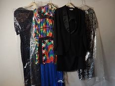 4 Vintage 1980/90's dresses/skirt and blouse sets sizes 12-14 to include St Michael and Cocoa