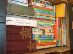 Box of Books including Enid Blyton