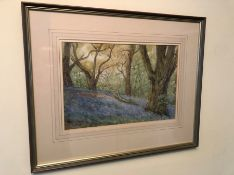 L G Linnell Watercolour Woodland