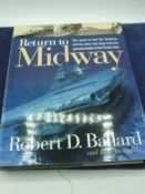 Return to Midway Robert D Ballard & Rick Archbold 1999 edition with dust jacket