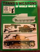 Tanks & Weapons of World War II Phoebus London edition 1973 with dust jacket