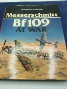 Messerschmitt Bf109 at war. Armand van Ishoven with dust cover. 1977 first edition