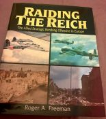 Raiding the Reich Roger A Freeman 1977 edition with dust jacket