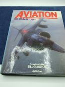 Aviation The story of flight consultant editor Bill Gunston with dust cover 1978 first edition