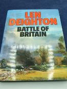Battle of Britain by Len Deighton with dust cover, 1980 edition
