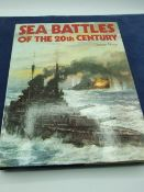 Sea Battles of the 20th century by George Bruce, with dust cover 1975 first edition