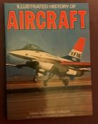 Illustrated History of Aircraft Brendan Gallagher 1977 edition with dust jacket