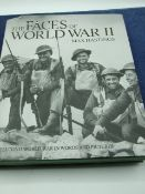 The faces of world war 2 by Max Hastings, with dust cover