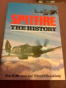 Spitfire The History Eric B Morgan and Edward Shacklady 1993 edition with dust jacket