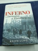 INFERNO the Devastation on Hamburg 1943 by Keith Lowe with dust cover 2007 first edition