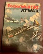 Focke Wulf 190 at war Alfred Price 1977 edition with dust jacket