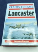 Claims to Fame The Lancaster Norman Franks 1994 edition with dust jacket