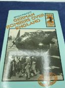 Germans bombers over England, world war 2 photo album number 2, by Bryan Philpot, with dust cover.