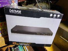 Unused Denver DVD player in box