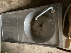 stainless steel boat sink