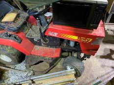 "42"" ride-on mower 125hp Rally"
