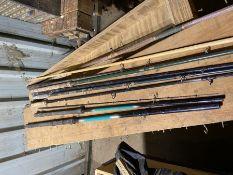 quantity of fishing rods