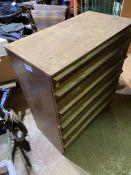 6 drawer hardwood chest