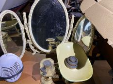 Set of vintage scales