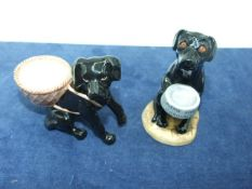 Beswick Dog 5 inches tall & 1 other