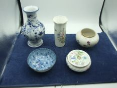 5 Pieces china including Aynsley