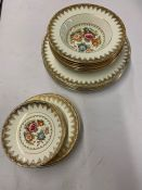 Royal Imperial Finest Bone China to include: 5 dinner plates; 6 bowls; 4 saucers; 3 side plates; 2