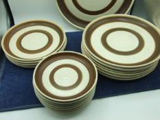 Part Denby Russet Dinner Service