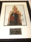 Pixie Lott signed photograph with certificate of authenticity