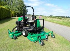 RANSOMES HR6010 RIDE ON MOWER BATWING 4 CYLINDER D