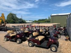 EZGO GOLF BUGGY TXT 48V SPLIT SCRE