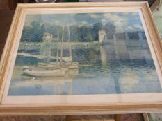 Claude Monet Print 55 x 41 cm
