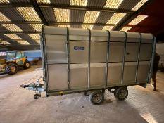 DP-1200-12 ' twin-axle cattle trailer