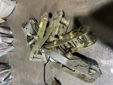 Five strap ratchets