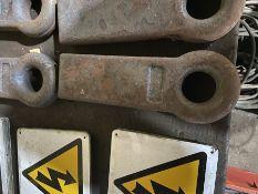 HEAVY DUTY EN16T WELD ON STRAIGHT TRAILER HITCH EYE - 16t
