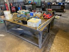 metal working table